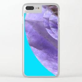Light Blue Mystical Powers of Amethyst #society6 Clear iPhone Case