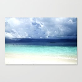 Maldives colors Canvas Print