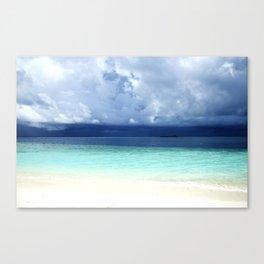 Maldives colors Canvas Print