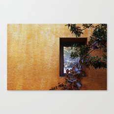 Wall opening Canvas Print