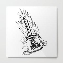 Magic Powers Metal Print