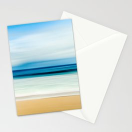 Peaceful ocean waves Stationery Cards