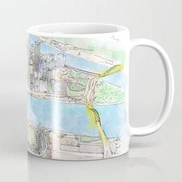 Aerial Coffee Mug
