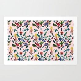 Caperucita Art Print
