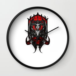The Lilith  Wall Clock