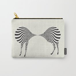 zebra mating Carry-All Pouch