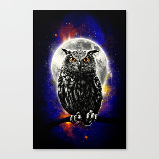 'The Watcher' Canvas Print