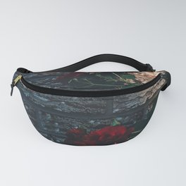 Roses and Walls Fanny Pack