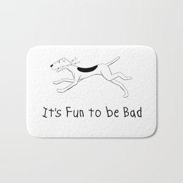 It's Fun to be Bad Bath Mat
