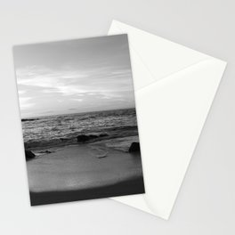 Sunset in Black and White 2 Stationery Cards