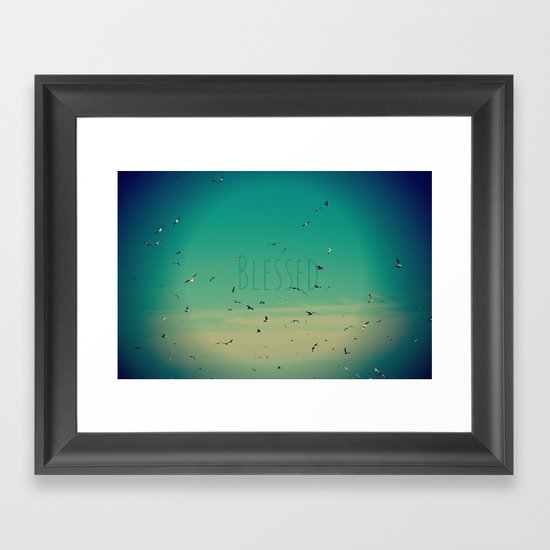 Blessed Framed Art Print