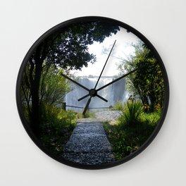 Mosi-oa-Tunya: Serenity Wall Clock