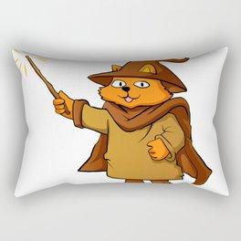 wizard cat. Rectangular Pillow