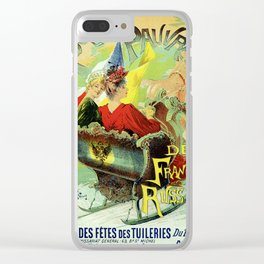 Festival for the poor of France and Russia 1892 Clear iPhone Case
