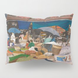 Kathmandu Market - Nepal Pillow Sham