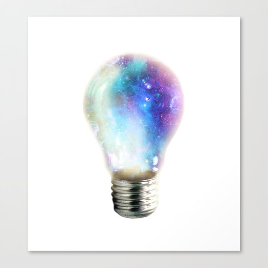 Light up your galaxy Canvas Print