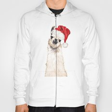 Christmas Llama Hoody