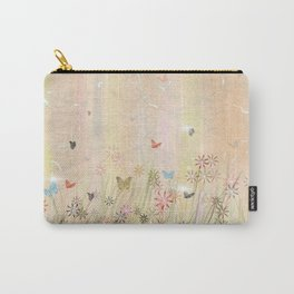 Blooming Butterflies  Carry-All Pouch