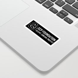 SCP Foundation: Secure Contain Protect Sticker