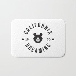 California Dreaming Minimalist Bear Bath Mat