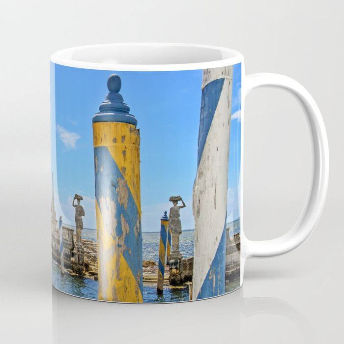 Vizcaya Barge Adventures Coffee Mug