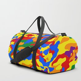 Homouflage Gay Stealth Camouflage Duffle Bag