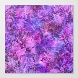 Frozen Leaves 27 Canvas Print