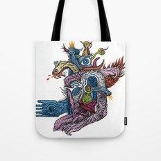 New god makina - Print available!! Tote Bag