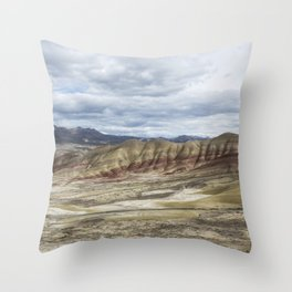 Heaven at Painted Hills Throw Pillow