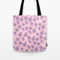 Rose pattern Tote Bag