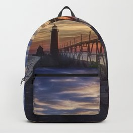 The Pier at Grand Haven, Michigan Backpack
