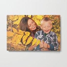 Family Shoot-Bree & Silas6 Metal Print