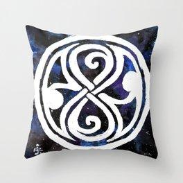 The Seal of Rassilon Throw Pillow