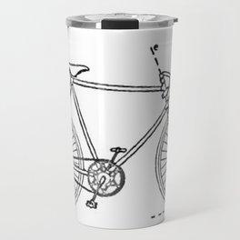 Bicycle Blueprint Travel Mug