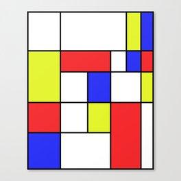 Mondrian #23 Canvas Print