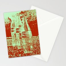 Classic cola bottles Stationery Cards