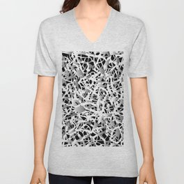 deep structure Unisex V-Neck