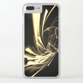 Planet #009 Clear iPhone Case