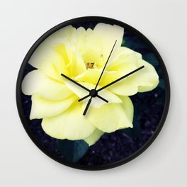 Friendship's Rose Wall Clock