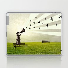 singing birds Laptop & iPad Skin