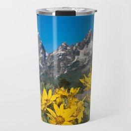 Grand Tetons Mountains National Park Wyoming Travel Mug