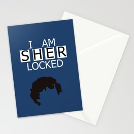 I am Sherlocked Stationery Cards