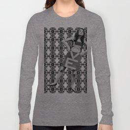 LOVE implosion #9 [invert]  Long Sleeve T-shirt