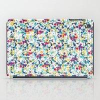 splatter iPad Cases featuring Splatter by Regan McDonell Design