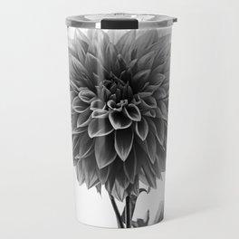 Dahlia - Monochrome Travel Mug
