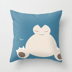 Snorlax Throw Pillow