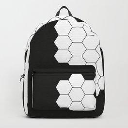 Hex•a•gon black Backpack