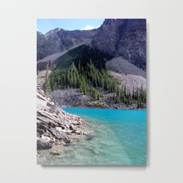 Moraine Lake, View 2, Banff Metal Print