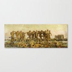 John Singer Sargent - Gassed Canvas Print