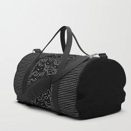 Joy Division Unknown Pleasures Duffle Bag